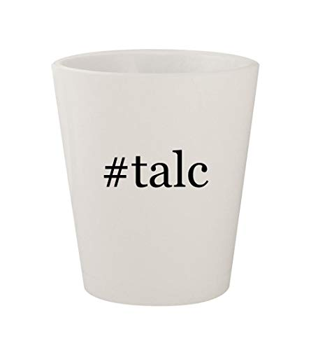 #talc - Ceramic White Hashtag 1.5oz Shot Glass ()