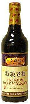 Lee Kum Kee Premium Dark Soy Sauce - 16.9 fl. oz. by Lee Kum Kee [Foods]