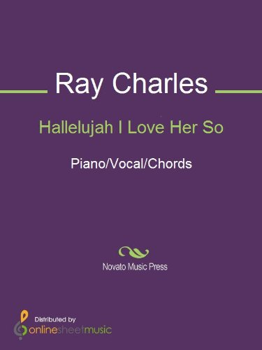 Hallelujah I Love Her So Kindle Edition By Ray Charles Arts