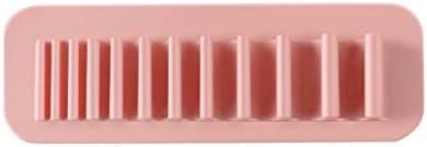 Smonke Make-up-Werkzeuge, Silikon Kosmetik Make-up Stifthalter Zahnbürstenhalter Schreibwarenhalter Badezimmer für den professionellen oder privaten Gebrauch
