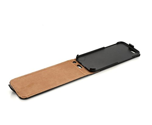 Arktis iPhone 6s Hülle Case Handyhülle Hardcase Premium Flipcase Tasche - Schwarz / Black