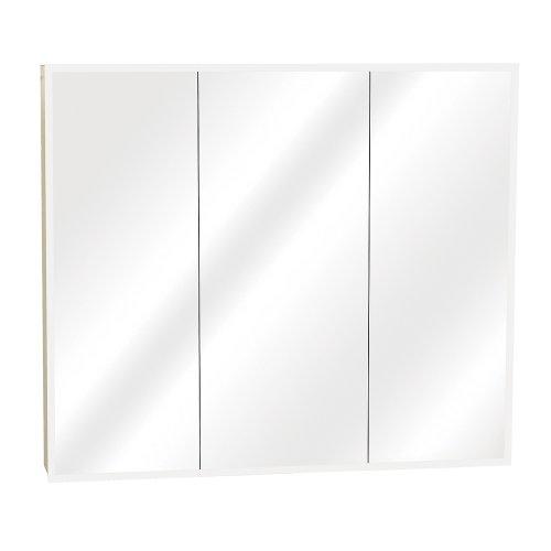 Zenith M30, Beveled Tri-View Medicine Cabinet, Frameless