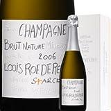 2006年ルイ・ロデレール ブリュット・ナチュール フィリップ・スタルクモデル[ボックス付] / / フランス シャンパーニュ / 750ml / スパークリングワイン