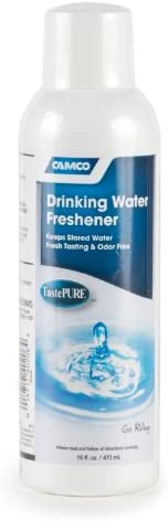 Camco TastePURE Drinking Water Freshener - Prevents Algae and Slime Build Up in Your Drinking Water Tank, Rids
