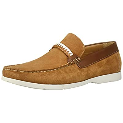Driver Club USA Men's Leather Eva Lightweight Technology Slip on Braid Detail Loafer | Loafers & Slip-Ons