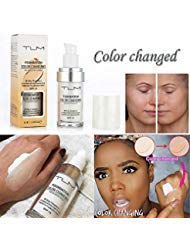 - Concealer Cover,Flawless Colour Changing Foundation Makeup Base Nude Face Liquid Cover Concealer