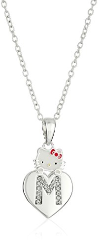 - Hello Kitty Girls' Crystal and Enamel