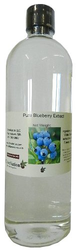 OliveNation Pure Blueberry Extract - 32 oz - All-natural - Gluten-Free, Sugar-Free - Perfect blueberry flavor to muffins, blueberry pie and pancakes - baking-extracts-and-flavorings by OLIVENATION