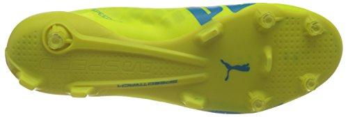 Puma Evospeed SL FG, Scarpe da Calcio Uomo Giallo (Gelb (Safety Yellow-atomic Blue-white 05))