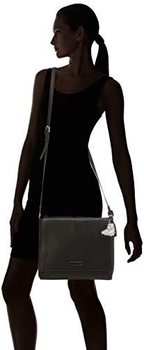 Bolsos Tamaris L Crossbody Mujer Bandolera Milla Bag black Negro rggIH