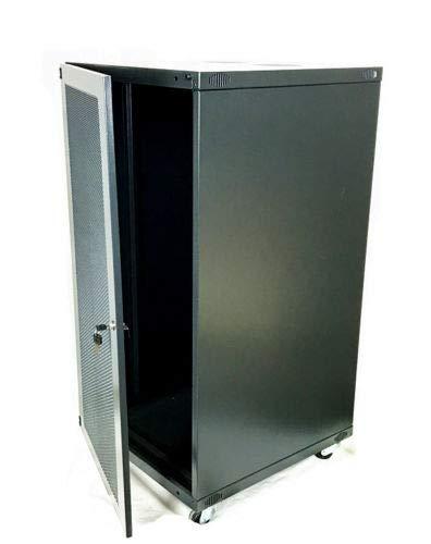Network Cabinets Network Server Cabinet Rack Enclosure Meshed Door Lock (15U Network Cabinets) by TECHTONGDA (Image #3)