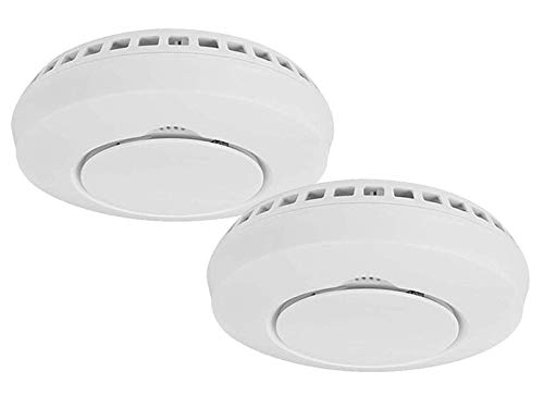 Intelligent addition smoke detector to the Smart Home PRO series in pack of 2 – with replaceable 3-year battery