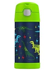 Thermos Funtainer Insulated 12 ounce Bottle, Dinosaur
