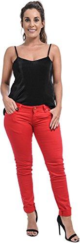 Xpression Fashion - Vaqueros - para mujer Rosso