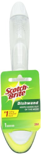 Scotch-Brite Heavy Duty Dishwand 650-4, 4/1