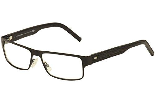DIOR HOMME Eyeglasses 0188 0PDC Matte Black (Christian Dior Cd Eyeglasses Frame)
