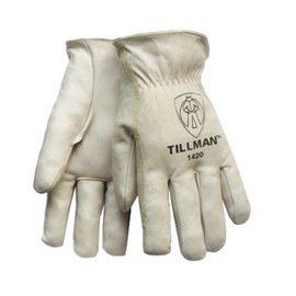 Work Gloves Top Grain Cowhide - 4