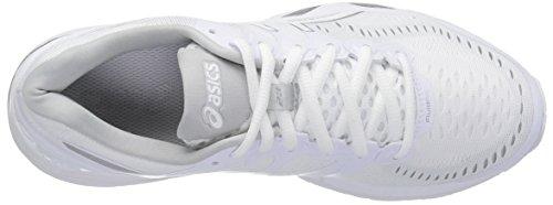 ASICS Womens Gel-Kayano 23 Running Shoe White/Snow/Silver OtNuMgCiEv