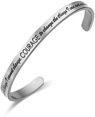 LIUANAN Inspirational Bracelets Personalized Stainless product image