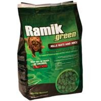 RAMIK GREEN RATS AND MICE BAIT - 4 POUND