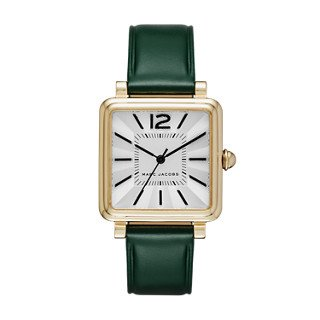 Marc Jacobs Women's Vic Green Leather Watch - MJ1492