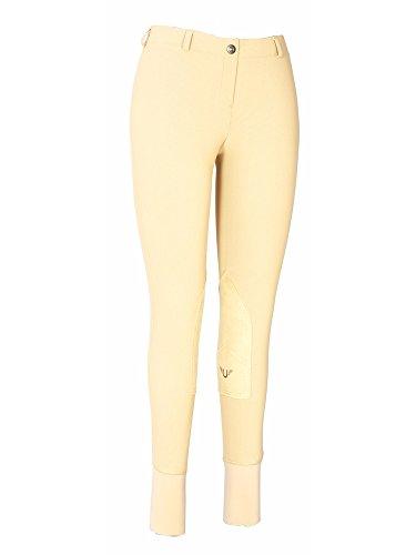Low Rise Breech (TuffRider Women's Ribb Lowrise Pull-On Breeches, Light Tan, 28)