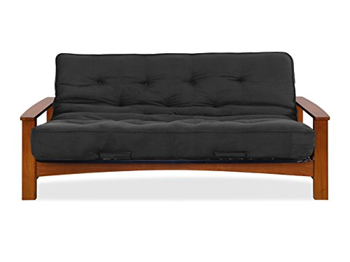 Sofas 2 Go SI-EX-VAC-VO-1K Vancouver Vintage Oak Futon Frame W/ 6