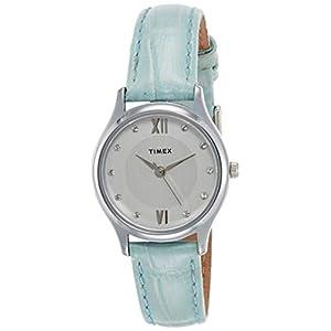 Timex Analog Silver Dial Women's Watch-TW00ZR265E