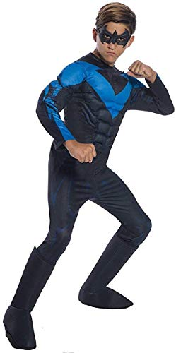 Rubie's DC Comics Deluxe Nightwing Childrens Costume,