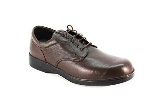 (Aetrex BV2100 Ambulator Biomechanical Brown Lace Up Men's Shoes Mw11 )