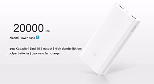 Price comparison product image Original Xiaomi Power Bank 20000 mAh 2nd Gen