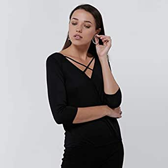 lee cooper T-Shirts For Women, Black L