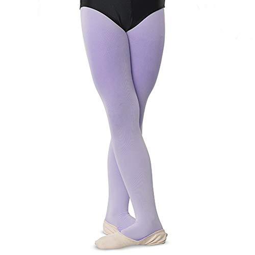 - DanzNmotion by Danshuz Girl's Nylon Tights 6X-7 Purple