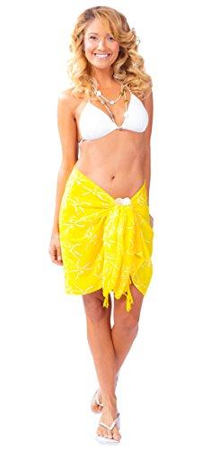 lib que amarillo cubre con medio Sarong BqUOXw