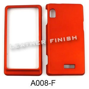 Orange Motorola Faceplates (Motorola Droid 2 A955 Honey Burn Orange, Leather Finish Hard Case/Cover/Faceplate/Snap On/Housing/Protector)