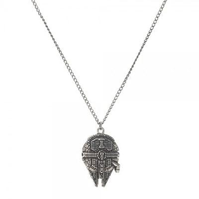 Bioworld Star Wars Millennium Falcon Necklace