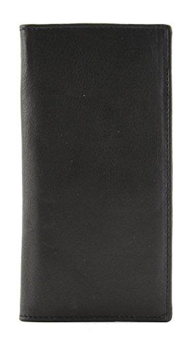 Bacci Top Grain Cowhide Check Book Cover - Executive Checkbook Cover Leather Accessories