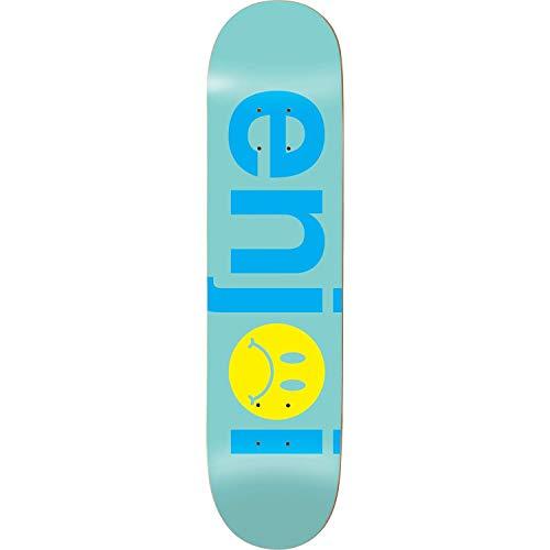 Enjoi Frowny Face Skateboard Deck -8.5 Mint Deck - Assembled