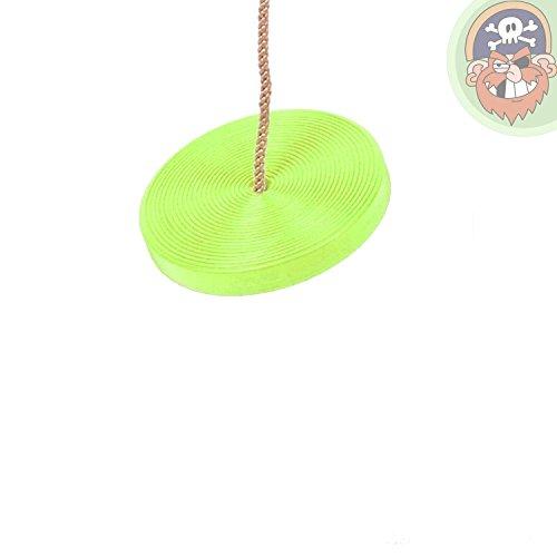 Tellerschaukel Kunststoff apfelgrün von Gartenpirat®