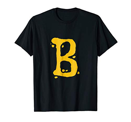 Initial Letter B | clean and simple Monogram T-Shirt ()