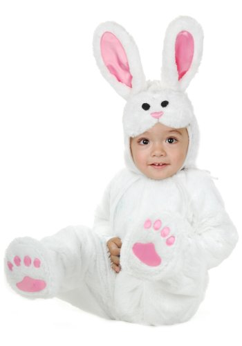 Charades Kids Little Bunny, White, Toddler