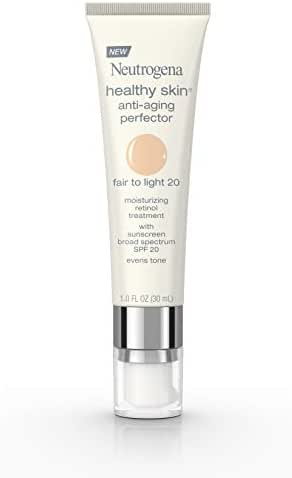 Neutrogena Healthy Skin Anti-Aging Perfector Spf 20, Retinol Treatment, 20 Fair To Light, 1 Fl. Oz.