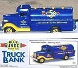 Blue Sunoco Truck Bank by Blue Sunoco Motor Fuel