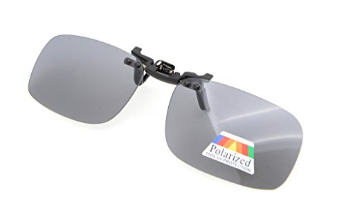 de sol metal con Multicolor gafas Polarized 53x33 Gafas 2 Clip MM up Eyekepper Flip Pack clip de de wqaxTIXtnA