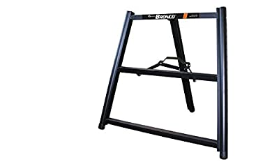 One Pair Bronco All Terrain Scaffolding Telescoping Sawhorse Miter Saw Stand