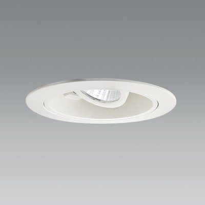 ユニティ LEDユニバーサルダウンライト Φ100 4000K 100VΦ70ハロゲン100W形相当 狭角 ホワイト UDL-1164NW-40 B07B4XC46B
