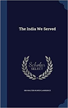 Book The India We Served