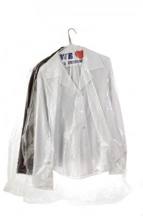 Garment Bags 21x7x40 450/ Roll .65 Mil by Plastic Place
