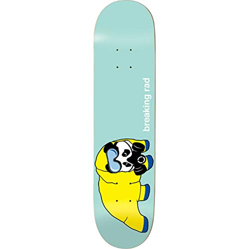 (Enjoi Skateboards Breaking Rad Pastel Green Skateboard Deck Resin-7-8.25