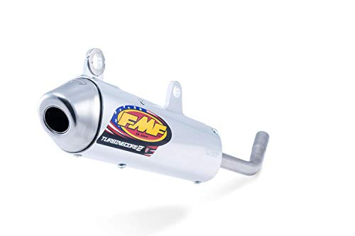 08-19 YAMAHA TTR110: FMF Powercore 4 Spark Arrestor Complete Exhaust With Stainless Hi-Flo Header (Aluminum) ()